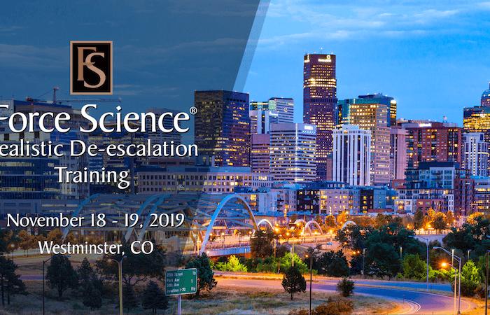 2-Day Realistic De-escalation Training in Colorado