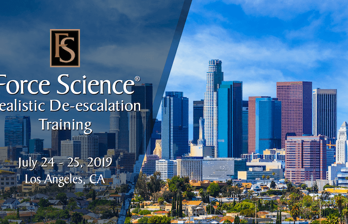De-escalation Training in Los Angeles