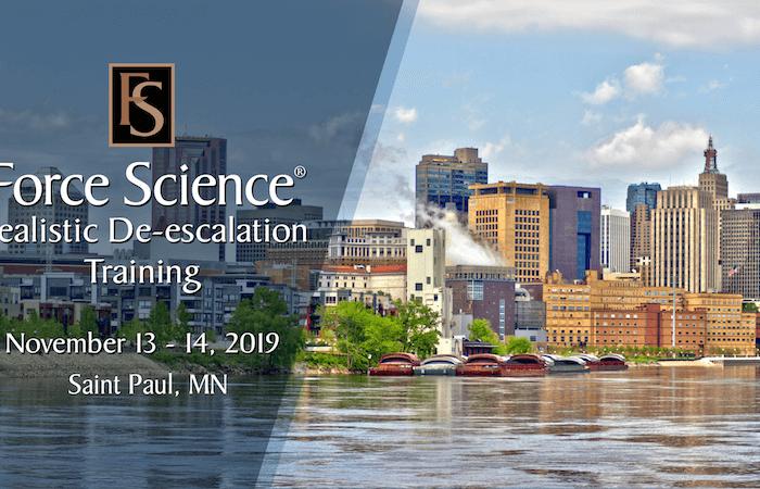 Realistic De-escalation Training Minneapolis/Saint Paul